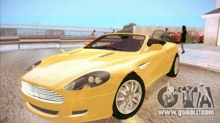 Aston Martin DB9 Volante v.1.0 for GTA San Andreas