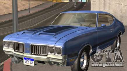 Oldsmobile 442 (fixed version) for GTA San Andreas
