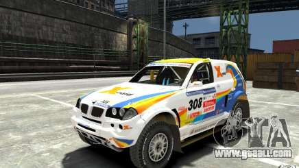 BMW X3 CC DAKAR for GTA 4