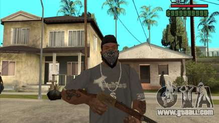 Hunting carbine for GTA San Andreas