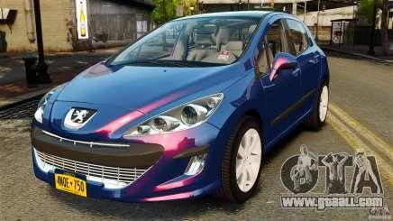Peugeot 308 2007 for GTA 4