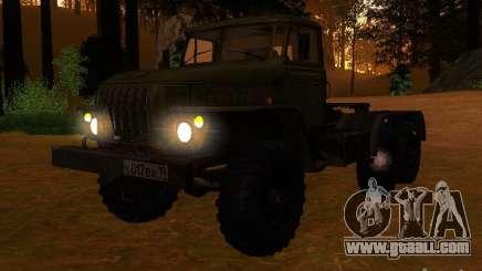 Ural-4420 tractor for GTA San Andreas