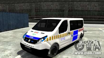 Opel Vivaro Hungarian Police Van for GTA 4
