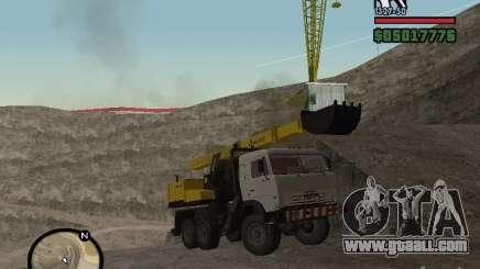 Kamaz UDS for GTA San Andreas
