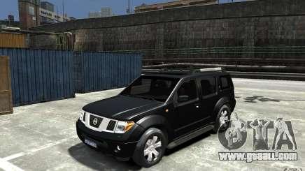 Nissan Pathfinder 2006 for GTA 4