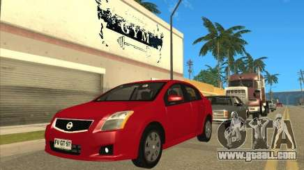 Nissan Sentra 2012 for GTA San Andreas