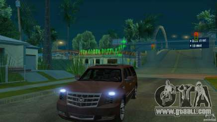 Cadillac Escalade ESV 2012 for GTA San Andreas