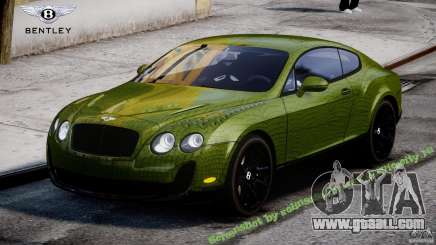Bentley Continental SS 2010 Suitcase Croco [EPM] for GTA 4