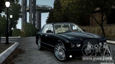 Bentley Arnage T v 2.0 for GTA 4