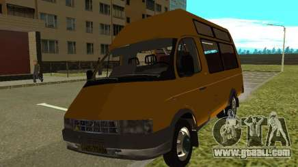 GAS SPV ruta-16 for GTA San Andreas