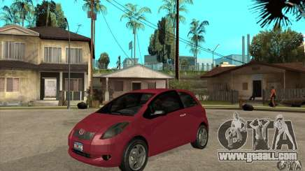 Toyota Yaris for GTA San Andreas