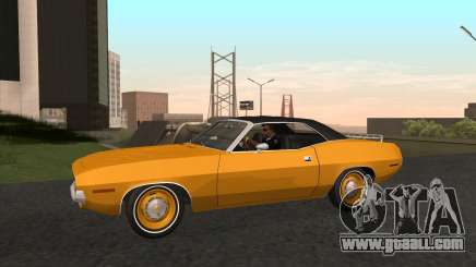 Plymouth Cuda Ragtop 1970 for GTA San Andreas