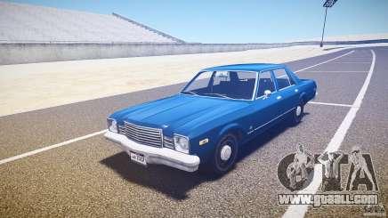 Dodge Aspen v1.1 1979 for GTA 4