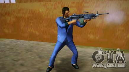 FN M249 for GTA Vice City