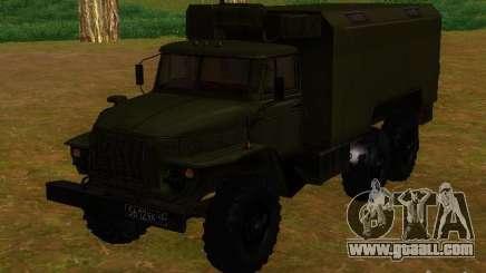 Ural 4320 Kung for GTA San Andreas