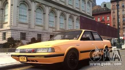Oldsmobile Cutlass Ciera 1993 for GTA 4
