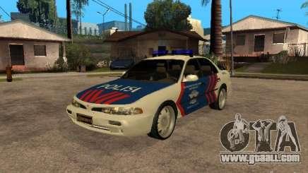 Mitsubishi Galant Police Indanesia for GTA San Andreas