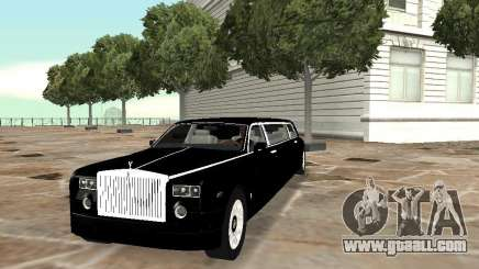 Rolls-Royce Phantom Limousine chauffeur 2003 for GTA San Andreas