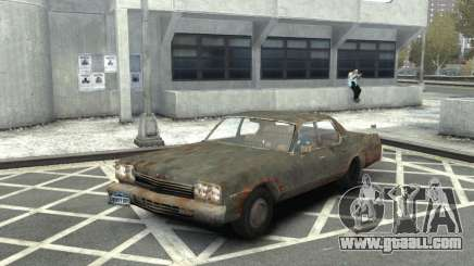 Dodge Monaco 1974 Rusty for GTA 4
