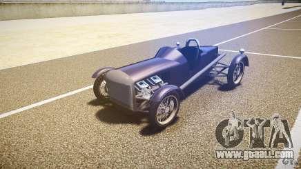 Vintage race car for GTA 4