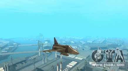 Saab JA-37 Viggen for GTA San Andreas