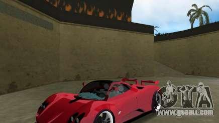 Pagani Zonda S for GTA Vice City