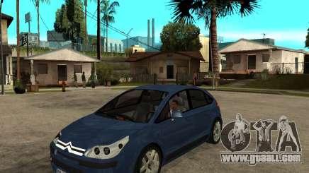 Citroen C4 SX 1.6 HDi for GTA San Andreas