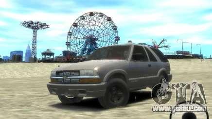 Chevrolet Blazer LS 2dr 4x4 for GTA 4