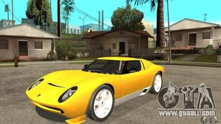 Lamborghini Miura Concept 2006 for GTA San Andreas