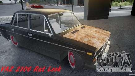 Vaz 2106 Rat look for GTA 4