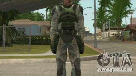 Lebedev of S.T.A.L.K.E.R. clear sky for GTA San Andreas