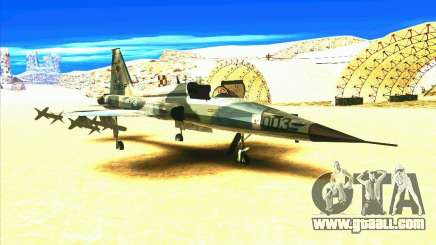 F-5E Tiger for GTA San Andreas