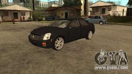 Cadillac CTS for GTA San Andreas