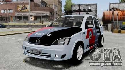 Chevrolet Corsa 2012 PMESP ELS for GTA 4