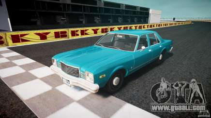 Dodge Aspen v1.1 1979 yellow rear turn signals for GTA 4