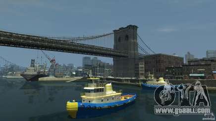 New Tug Texture v.2 for GTA 4