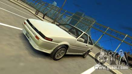 Toyota Corolla AE86 EPM v3.0 for GTA 4