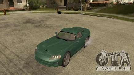 Dodge Viper Srt 10 for GTA San Andreas