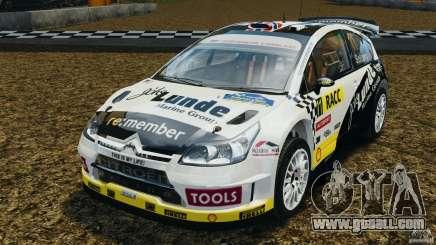Citroen C4 WRC for GTA 4