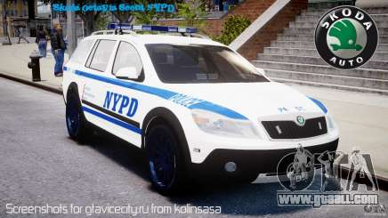 Skoda Octavia Scout NYPD [ELS] for GTA 4