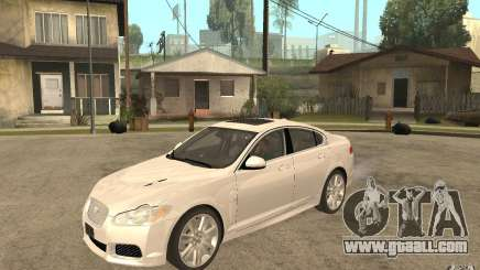 Jaguar XFR for GTA San Andreas
