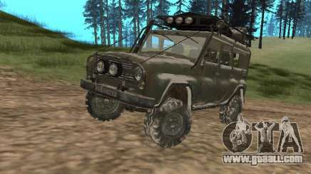 UAZ-31519 from COD MW2 for GTA San Andreas
