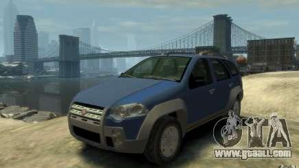 Fiat Palio Adventure Locker for GTA 4