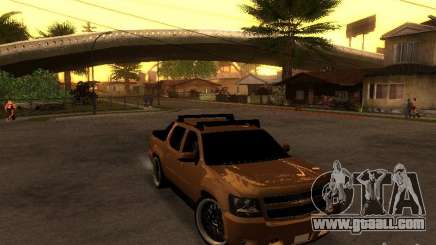 Chevrolet Avalanche Tuning for GTA San Andreas