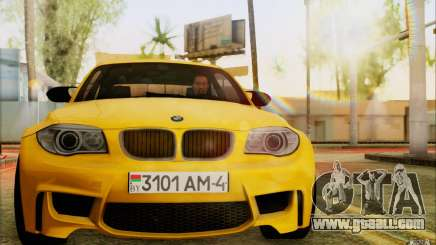 BMW 1M Coupe for GTA San Andreas