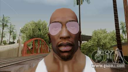 Pink Aviator glasses for GTA San Andreas