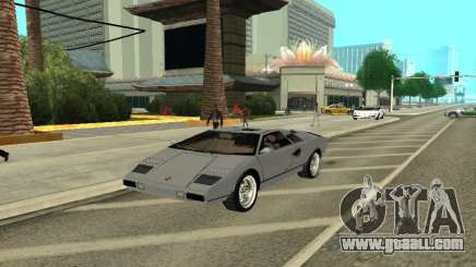 Lamborghini Countach LP400 for GTA San Andreas