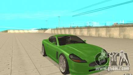 Super GT from GTA 4 for GTA San Andreas
