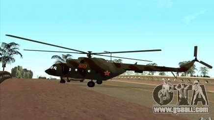 MI-17 Military for GTA San Andreas