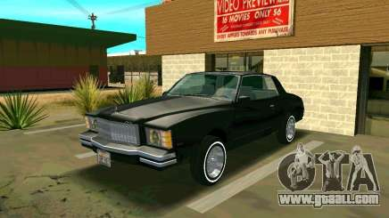 Chevrolet Monte Carlo 1979 for GTA San Andreas